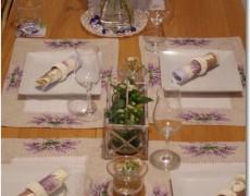 8月15日(木) 第2弾 南フランス料理&テーブルコーディネートのお知らせ