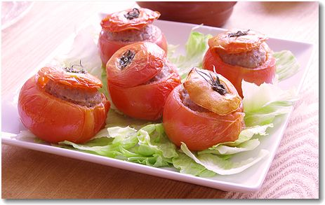 トマトオーブン焼き