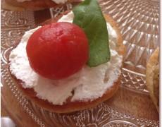 トマトと桃のコンポート