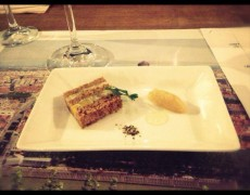 パンデピスとクリームチーズのテリーヌ
