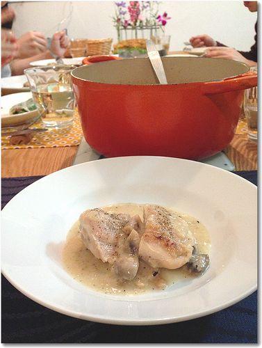 フリカッセと鍋