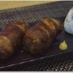 牛バラ肉の肉巻きおにぎり 柚子風味