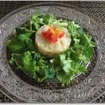 ホタテと塩漬け柚子の和風タルタル