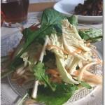 白菜とルッコラのイタリアンサラダ