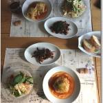 2014・1・23 旬の野菜をふんだんに使った料理