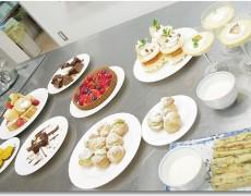 名古屋栄養専門学校 簡単お菓子講座 最後の実技テスト