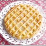 白桃とアーモンドクリームのパイ