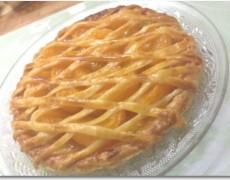 柚子ジャムとみかんのミルククリームパイ