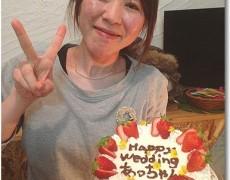 FCルネ あっちゃん☆サプライズ結婚祝いパーティー♪