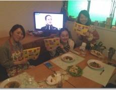 """2014.3.29 夜の部 """"キッシュをつくろう☆""""合わせて簡単レシピもご用意しました♪"""
