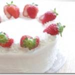 いちごのショートケーキ (18cm)