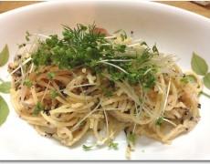 明太子と海苔のサラダスパゲティー