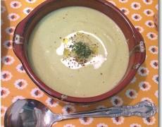 白菜とブロッコリーのポタージュ