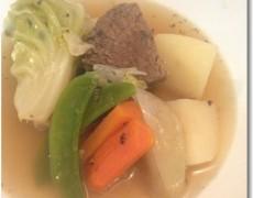 牛肩肉と春野菜のポトフ