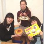 2014.3.17(月) キッシュ&ライスコロッケを作ろう☆