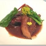 豚ばら肉のはちみつバルサミコ煮