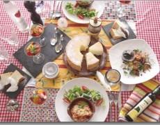8月のレッスン コルシカ島の料理♪ カネロニ × オレンジとオリーブのサラダ × 魚介 × シフォンケーキ