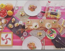 9月のレッスン 残暑に味わう本格レシピ!バスク伝統メニューdeこだわりの食卓を♪~ピンチョス・ピペラード・ガトーバスク~