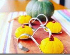10月のレッスン かぼちゃたっぷり!ハロウィンレッスン♪ ☆レシピ☆