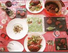 11月のレッスン クリスマス先取り☆骨付きチキンでおもてなし♪ ~ブルゴーニュ料理~