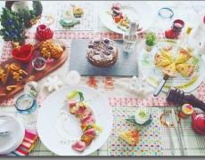 12月のレッスン クリスマス本番!スペシャルレッスン♪ ~アルザス&ロレーヌ料理~ -ローストビーフ・キッシュ・クリスマスケーキ・パンデピスー