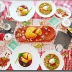 1月のレッスン ガレット・デ・ロワで2017年運試し♡  ~パリのビストロ料理~ -ミネストローネ × 鴨のパイ包み × ガレット・デ・ロワ × ヌテラとバナナのチョコクレープ-