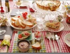 3 月のレッスンレシピ♪ 本格キッシュ講座!フランス惣菜でお花見を ~ブルターニュ料理~