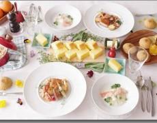 5月のレッスン  ~フランス南西部ミディ・ピレネーの料理~ ― 鴨と豚肉のコンフィ×ブランマンジェ×白インゲン豆×トウモロコシ粉のパン&ケーキ -