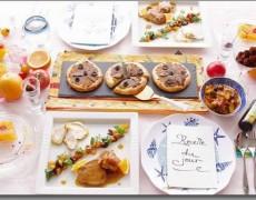 7月のレッスン  元気いっぱい!南フランスの彩りレシピ♪ ーラタトゥイユ × アンチョビとオリーブのパン × 鶏肉 × オレンジ × デザートテリーヌ × トリュフショコラ ー ~プロヴァンス地方の料理~
