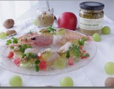 『グリーンオリーブピュレ Pâte d'olive verte』