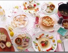 2月のレッスン ホワイトデー♡ビストロ人気メニュー大集合♪ 本格キッシュ × パテ × 砂肝 × 魚の出汁&ポワレ × レモンパイ
