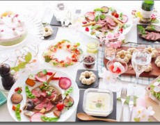 4月のレッスンのお知らせ 桜咲く♡和食材で作る春のフレンチ 和食の基本とフレンチの小技をコラボ♪