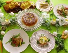 4月のレッスンのお知らせ「卵・羊・鶏・ニンジン♪イースター料理 de 春の本格おもてなしレッスン♡ ~Cuisine de Pâques~」