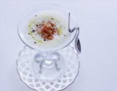 6月のレッスン追加レシピ!新玉ねぎの冷製ポタージュ、甘味と旨味がたっぷりの旬レシピ♪