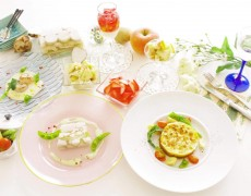 """【4月に延期致します。】2月3月のレッスン『定番フレンチ×ホワイトデー♡美しき """"白"""" 光る、春の訪れを♪』料理5品+デザート1品"""