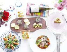 9月のレッスン♪ ヘルシー!おいしい!美しい♡を欲張ろう。野菜たっぷり!ワイン・ドリンクペアリング南フランス料理de残暑疲れを癒す、簡単・大胆バランスメニュー♪~デモンストレーション形式レッスン~